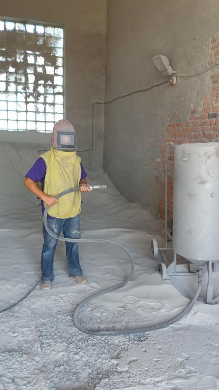 Заказать Пескоструйная обработка металла