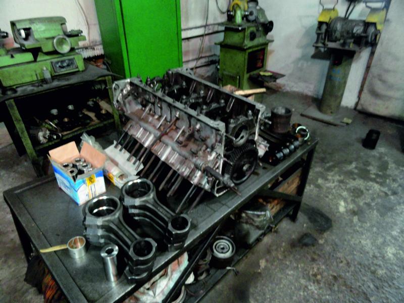 Заказать Ремонт двигателей