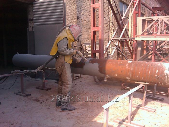 Заказать Пескоструйная обработка металла в Чернигове ( пескоструй )