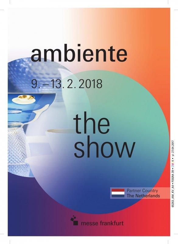 Ambiente 2018 Международная выставка посуды, кухонных принадлежностей, подарков и ювелирных изделий, мебели, декорирования и освещения интерьеров