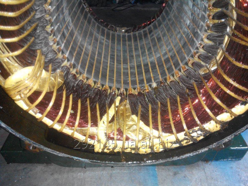 Заказать Перемотка и ремонт электродвигателей общепромышленных