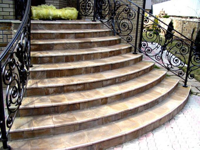 Красивые входные лестницы фото