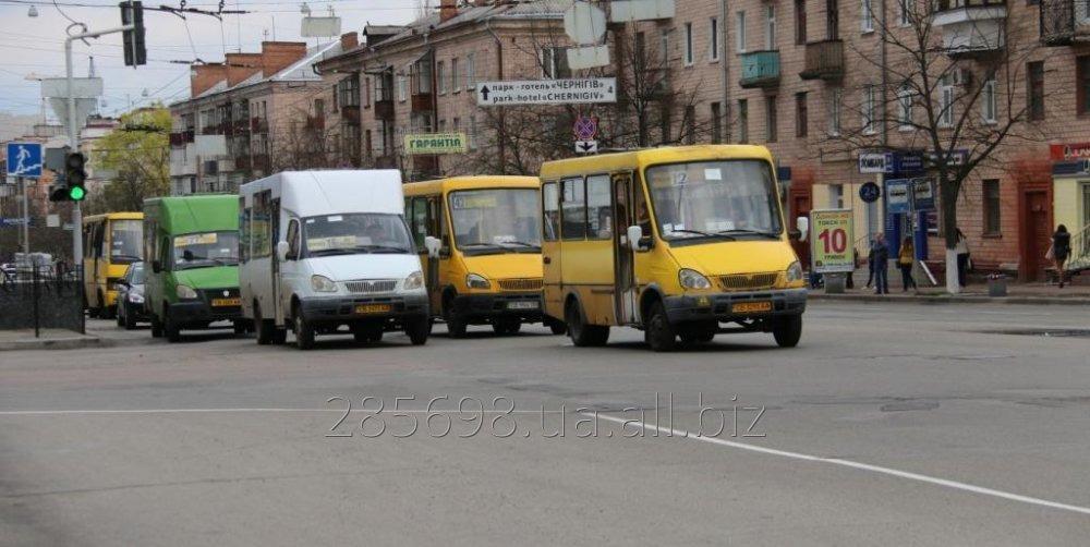 Заказать Реклама в маршрутных такси Чернигова