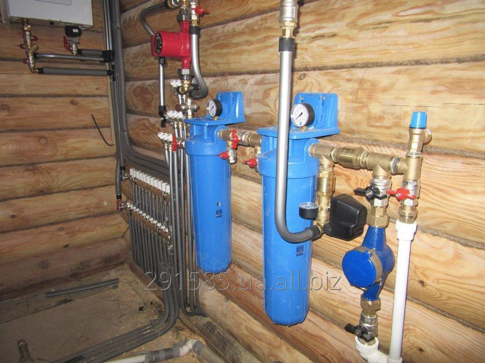 Заказать Услуги: сантехника, вода, отопление, канализации
