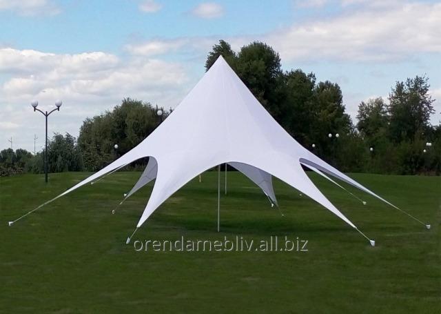 Заказать Аренда шатра Звезда диаметром 10 м