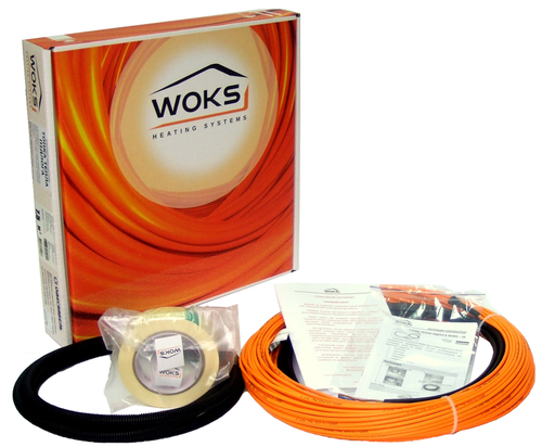 Монтаж теплого пола: кабели и маты арт.: 92782