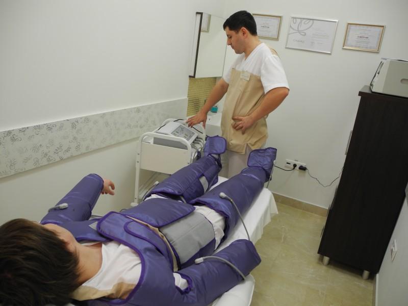 Заказать Аппаратный лимфодренаж или прессотерапия