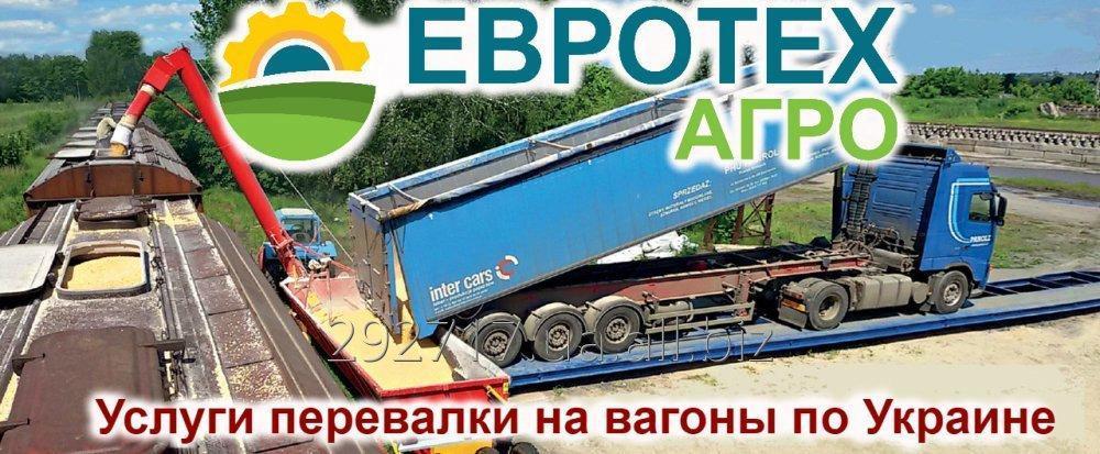 Заказать Услуги мобильной перевалки на вагоны всех видов Зерновых по Украине