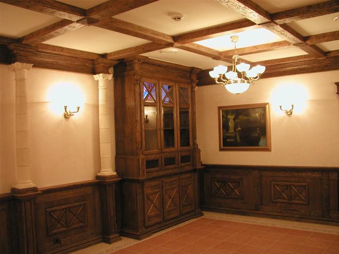 Заказать Интерьеры из дерева ,деревянный декор