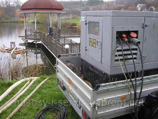 Заказать Аренда генератора 30 кВа Elbe Strom Maschinenbau