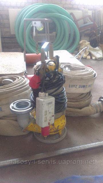 Заказать Аренда погружного шламового насоса для илистых вод Pumpex SР 50 Производительность илососа 90 м3/час