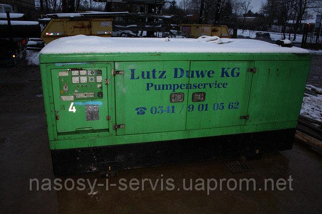 Заказать Аренда электрогенератора 100кВа Mobilstrom GmbH, DE 100/S