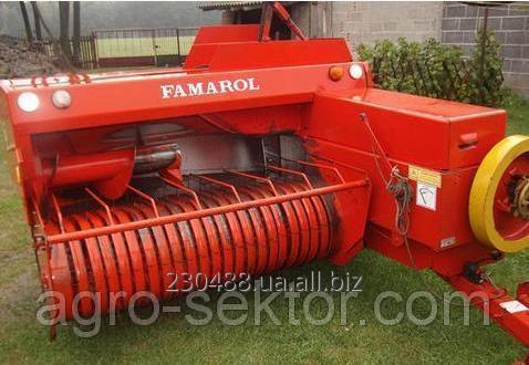 Заказать Ремонт вязального стола пресс подборщика Famarol Z-511