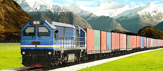 Заказать Доставка груза железнодорожным транспортом