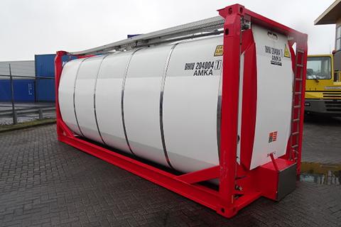 Заказать Аренда танк-контейнеров для перевозки химических продуктов