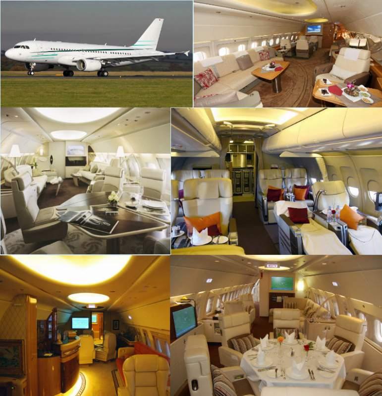 Заказать Бизнес-перевозки на самолетах с VIP-салоном