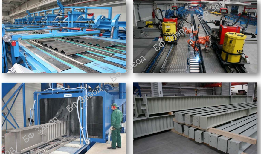 Заказать Производство металлоконструкций
