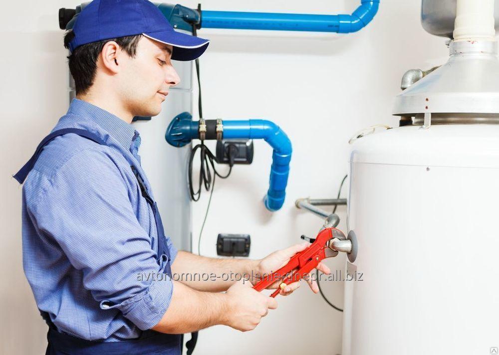 Заказать Монтаж систем отопления, водоснабжения и канализации в Днепре