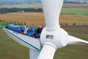 Монтаж ветроэнергетических установок