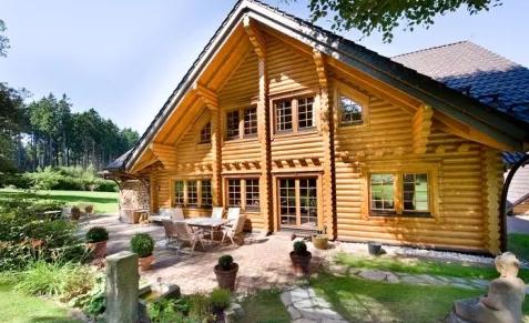 Заказать Будівництво дерев'яних будинків з оциліндрованої колоди