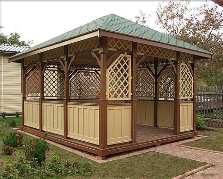 Заказать Будівництво дерев'яних альтанок