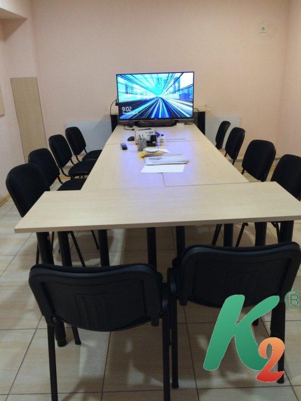 Аренда офиса почасово. м. Лукьяновская. 10-14 человек