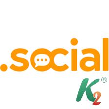 Регистрация домена social