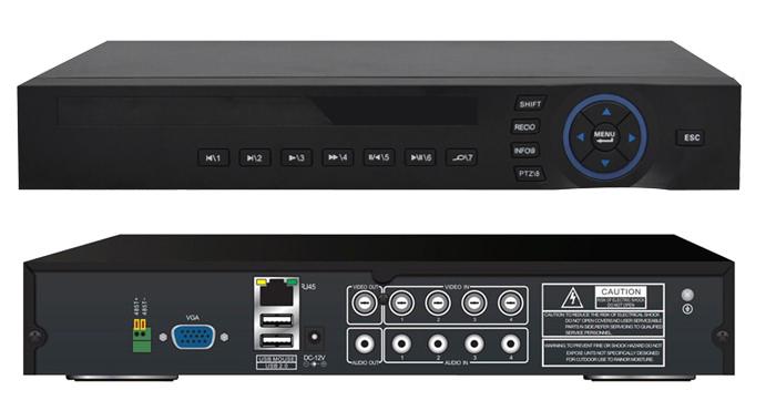 Заказать Базовые настройки аналогового, IP NVR или HDCVI видеорегистратора 64 канала