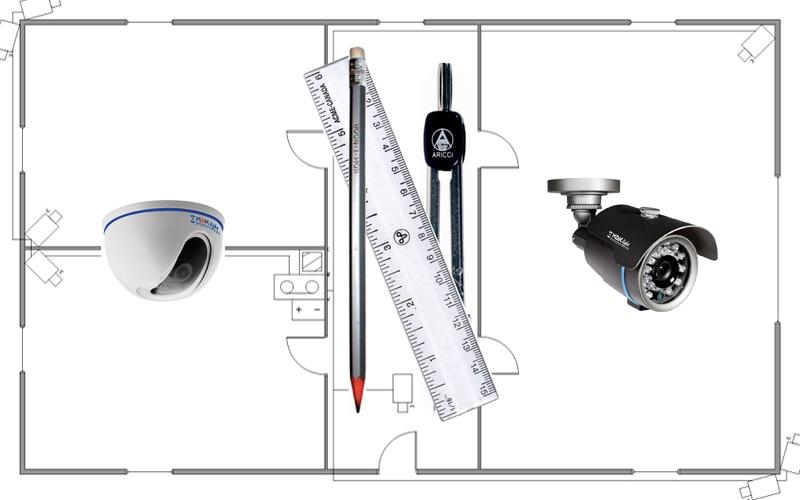 Заказать Проектирование систем видеонаблюдения