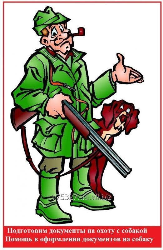 Заказать Документы для охотничьих собак Документы для охоты с собакой