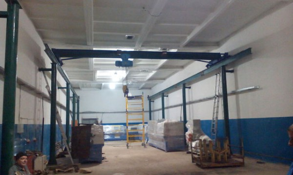 Installation and construction of the sandwich panels