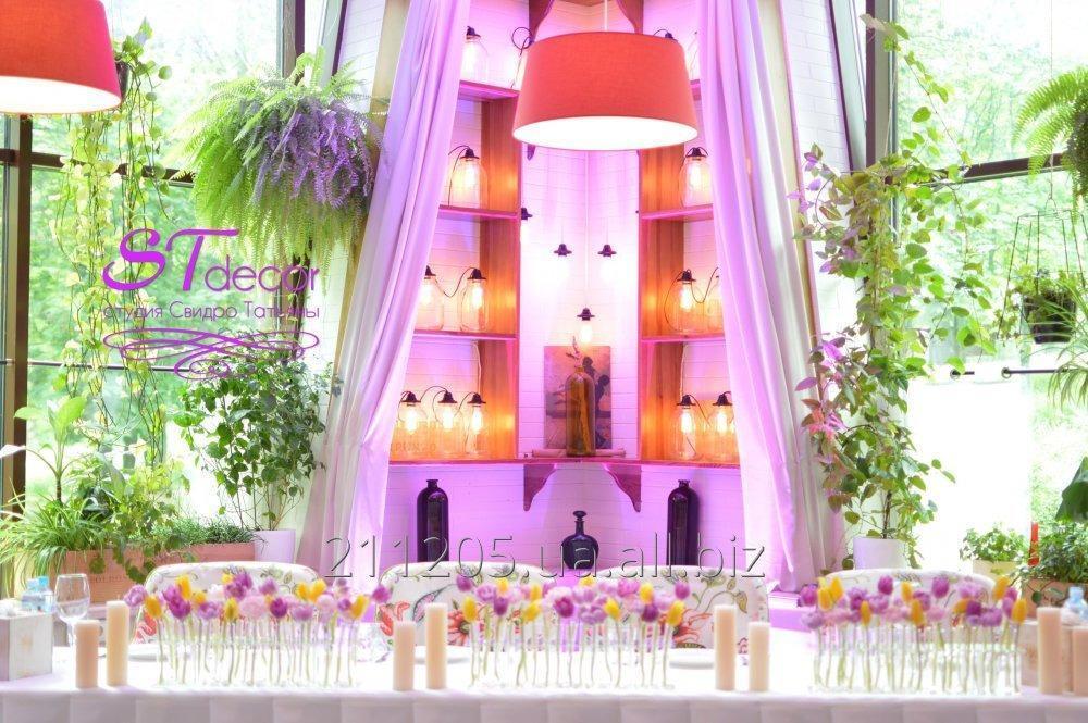 Заказать Декор и оформление свадьбы, г.Борисполь