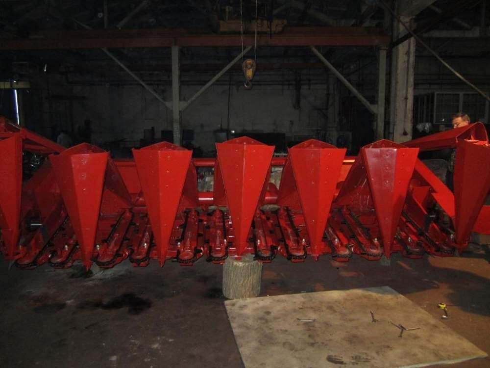 農業機械の修理