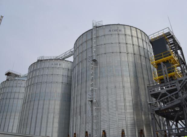 Строительство зернового терминала
