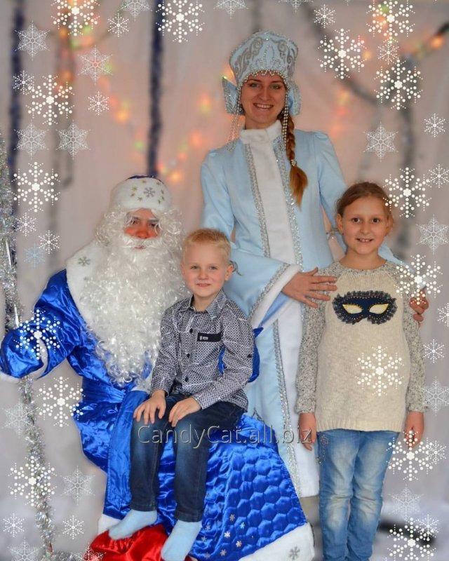 Заказать Дед Мороз и Снегурочка