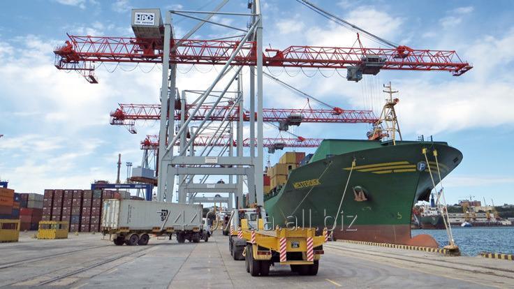 Заказать Морские контейнерные перевозки,экспедирование в портах, фрахтование судов (Одесса и не только)