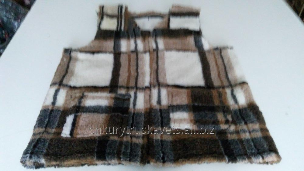 Order Tailoring of sleeveless jackets from a sheepskin, the big sizes, 0401