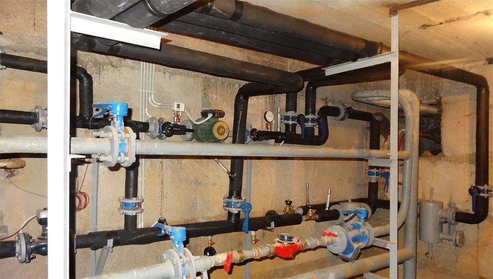 Заказать Модернизация индивидуального теплового пункта в многоквартирных жилых домах г. Южный.