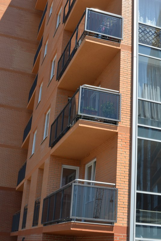 Production balconies / installation