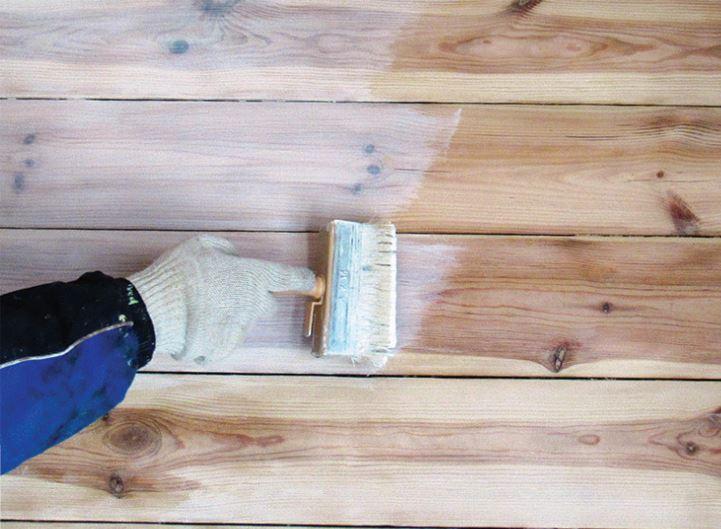 Антисептическая обработка, покраска древесины