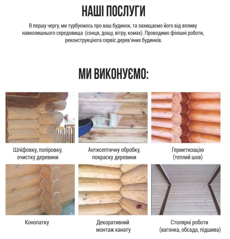 Реставрация домов из дерева