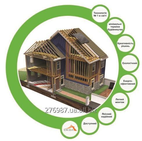 Order Construction of Wooden houses on the Canadian technology