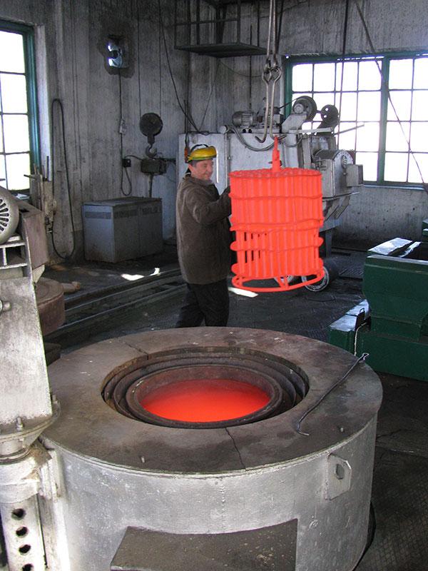 熱処理の詳細