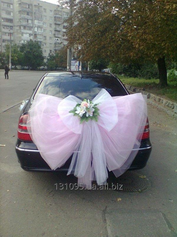 Заказать Декор свадебного автомобиля.