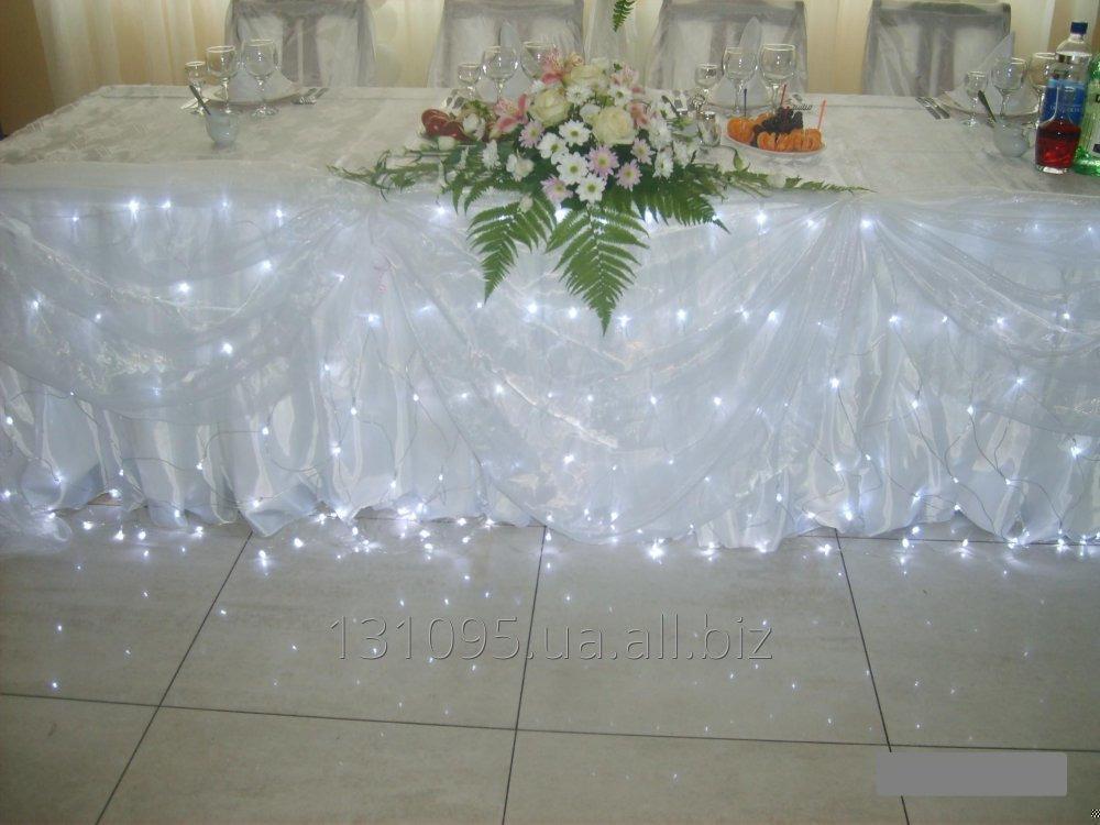 Заказать Декорирование свадебного стола.