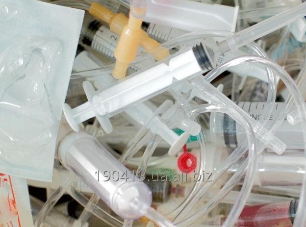 Заказать Відходи, які виникають в результаті медичного огляду (шприци, системи, бинти та ін)