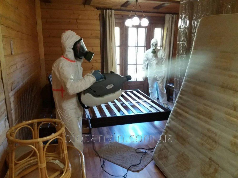 Санитарная обработка помещений (дезинфекция)
