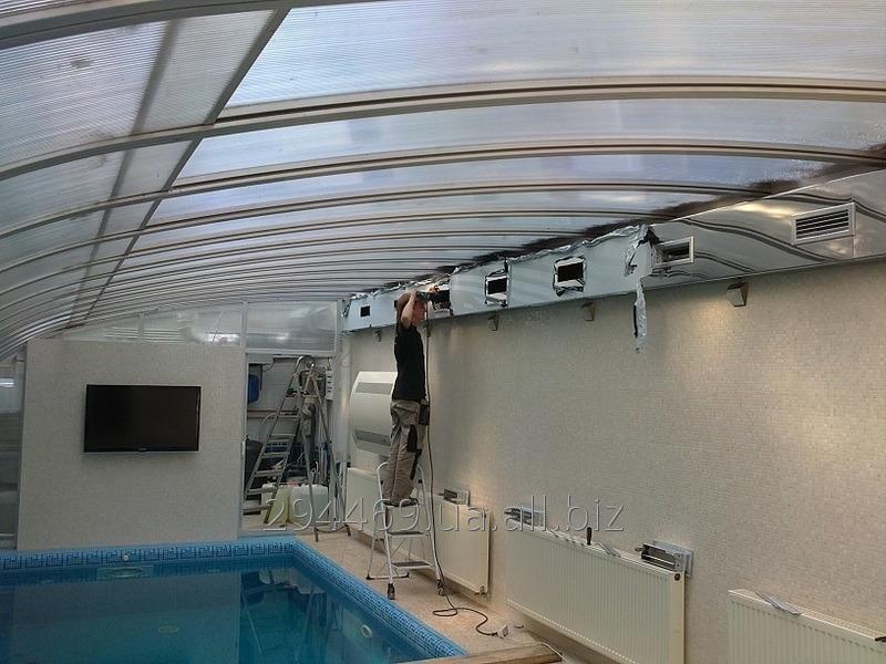 Заказать Монтаж систем вентиляції у басейні
