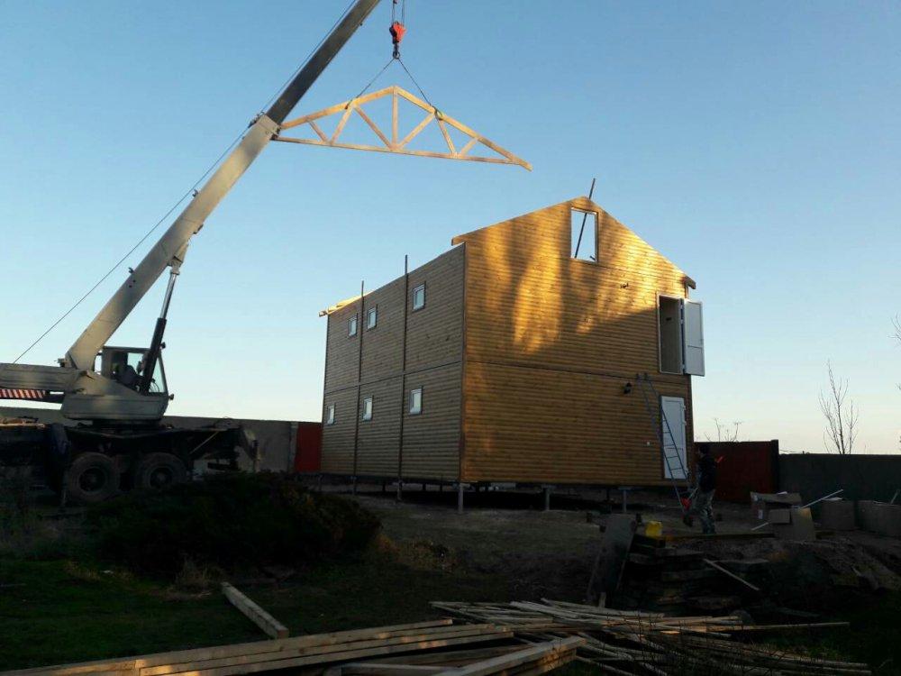 Заказать Двохповерховий модульний будинок для бази відпочинку у стані під ключ