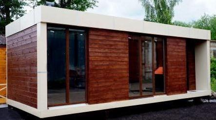 Заказать Готовые сооружения цеховой сборки по каркасно-деревянной технологии